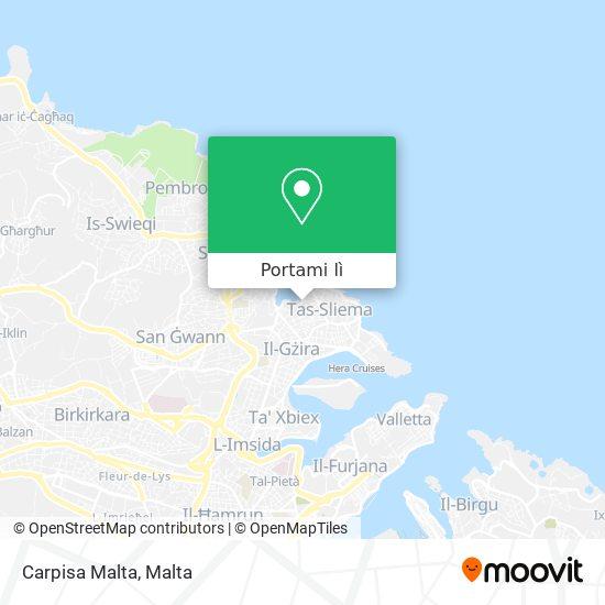 Mappa Carpisa Malta