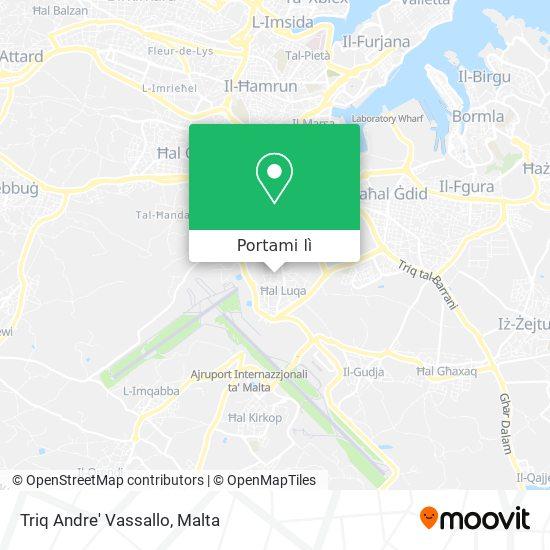 Mappa Triq Andre' Vassallo