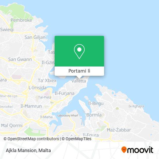 Mappa Ajkla Mansion