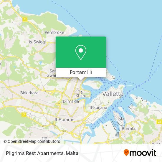 Mappa Pilgrim's Rest Apartments