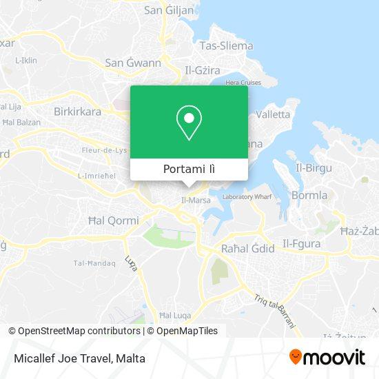 Mappa Micallef Joe Travel