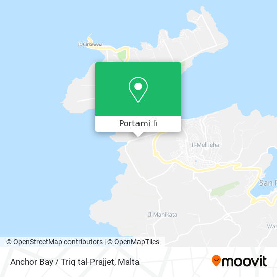 Mappa Anchor Bay / Triq tal-Prajjet