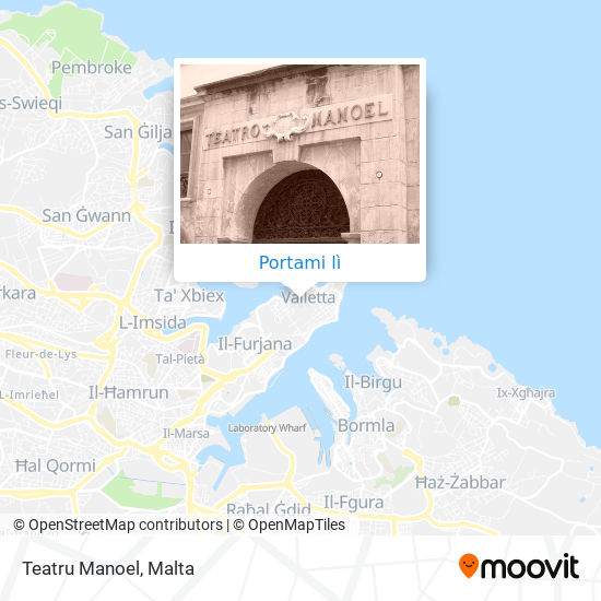 Mappa Teatru Manoel