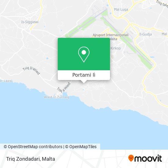 Mappa Triq Zondadari
