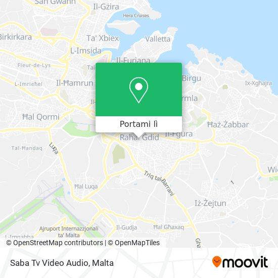 Mappa Saba Tv Video Audio