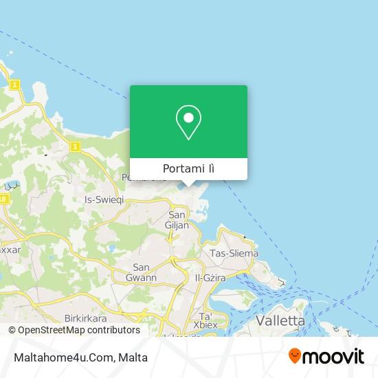Mappa Maltahome4u.Com