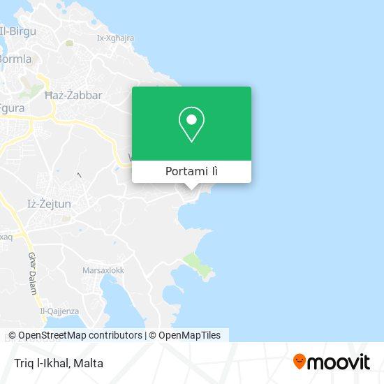 Mappa Triq l-Ikhal