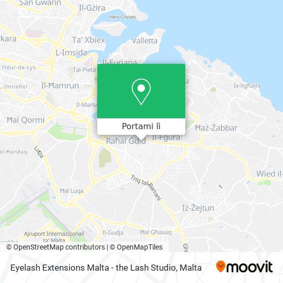 Mappa Eyelash Extensions Malta - the Lash Studio