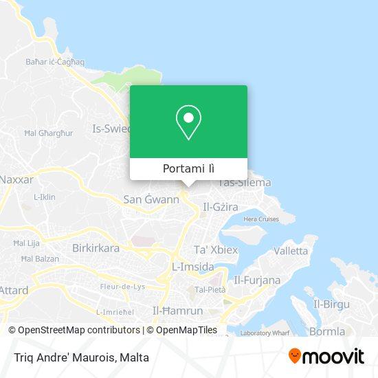 Mappa Triq Andre' Maurois