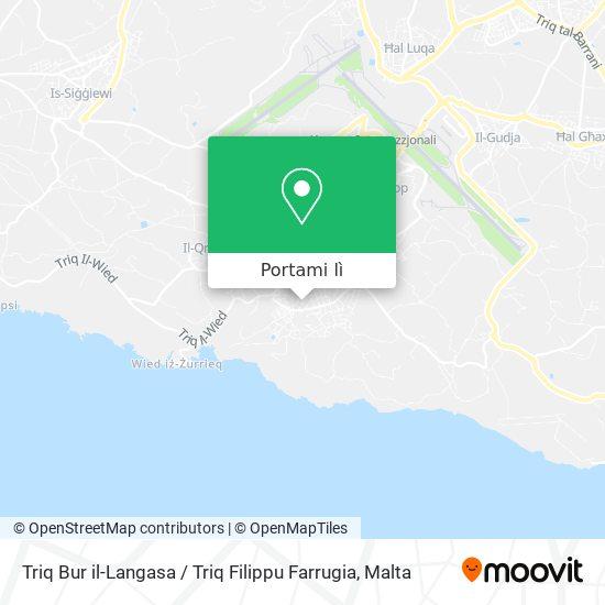 Mappa Triq Bur il-Langasa / Triq Filippu Farrugia