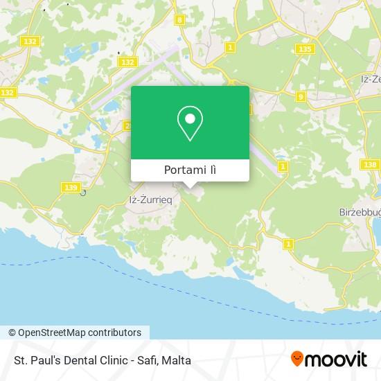 Mappa St. Paul's Dental Clinic - Safi