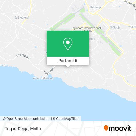 Mappa Triq id-Dejqa