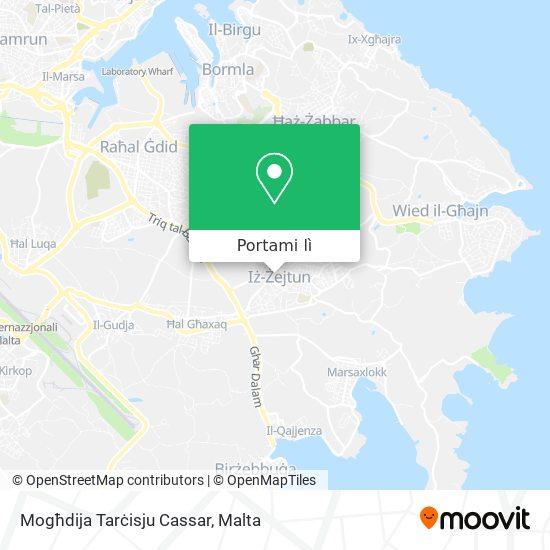 Mappa Mogħdija Tarċisju Cassar