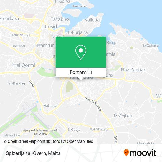 Mappa Spizerija tal-Gvern