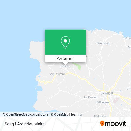 Mappa Sqaq l-Arċipriet