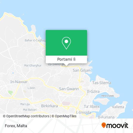 Mappa Forex