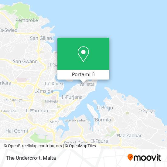 Mappa The Undercroft