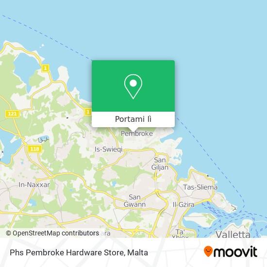 Mappa Phs Pembroke Hardware Store