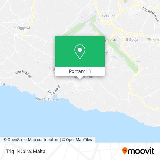 Mappa Triq il-Kbira