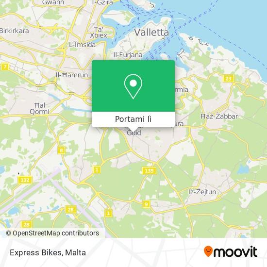 Mappa Express Bikes