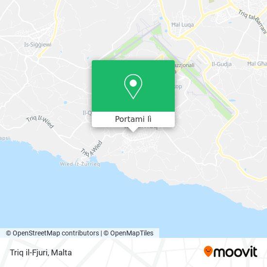 Mappa Triq il-Fjuri