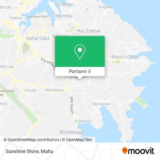 Mappa Sunshine Store