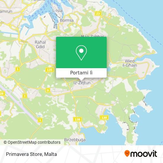 Mappa Primavera Store