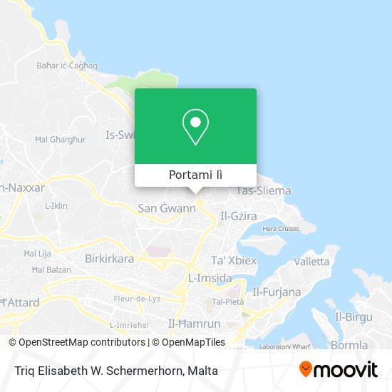 Mappa Triq Elisabeth W. Schermerhorn