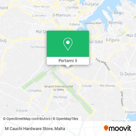 Mappa M Cauchi Hardware Store