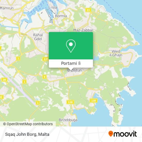 Mappa Sqaq John Borg