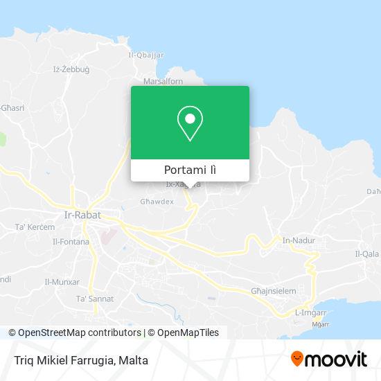 Mappa Triq Mikiel Farrugia