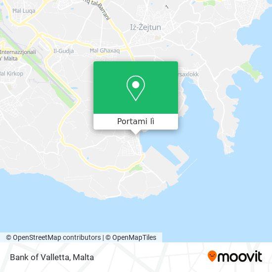 Mappa Bank of Valletta