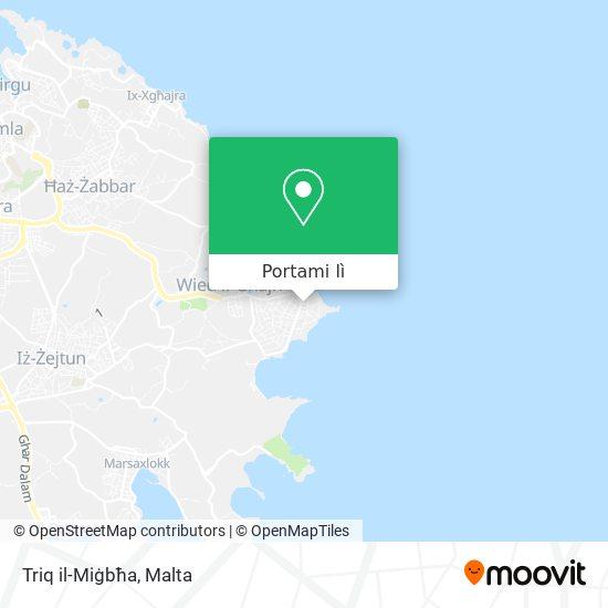 Mappa Triq il-Miġbħa