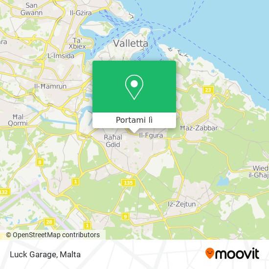 Mappa Luck Garage
