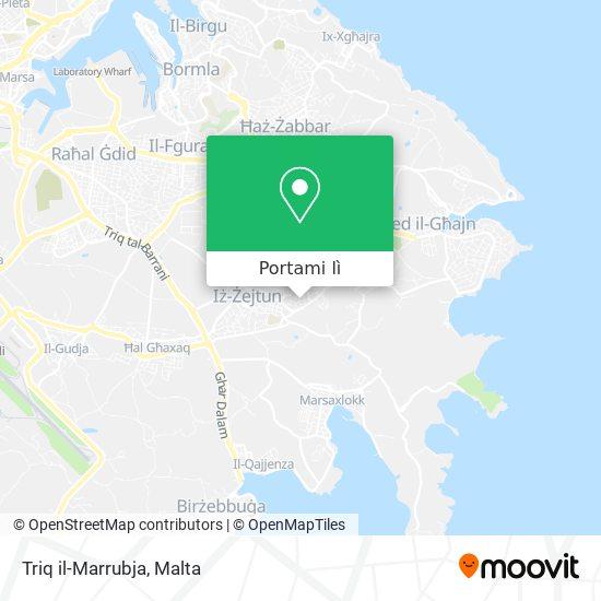 Mappa Triq il-Marrubja
