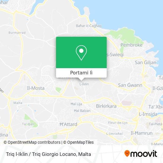Mappa Triq l-Iklin / Triq Giorgio Locano
