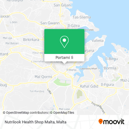 Mappa Nutrilook Health Shop Malta