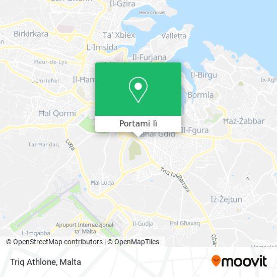 Mappa Triq Athlone
