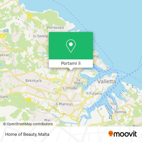 Mappa Home of Beauty