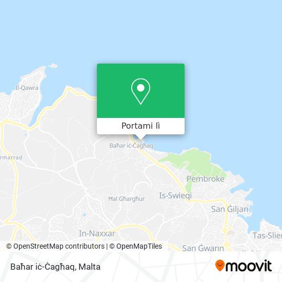 Mappa Baħar iċ-Ċagħaq