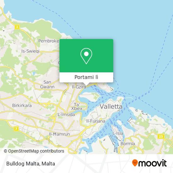 Mappa Bulldog Malta