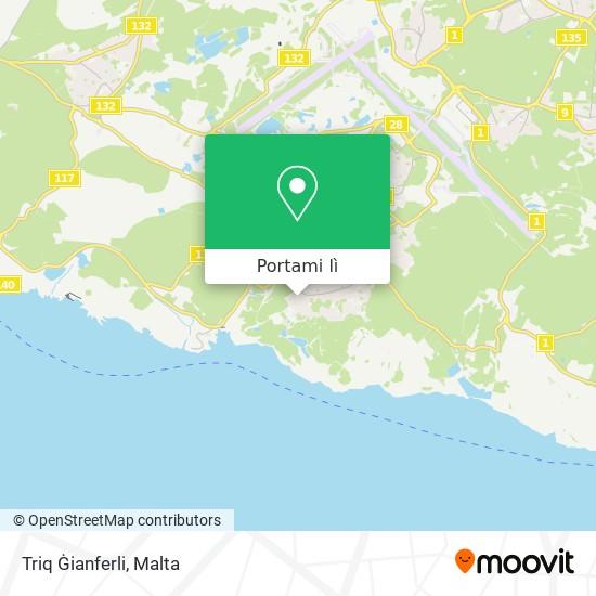 Mappa Triq Ġianferli