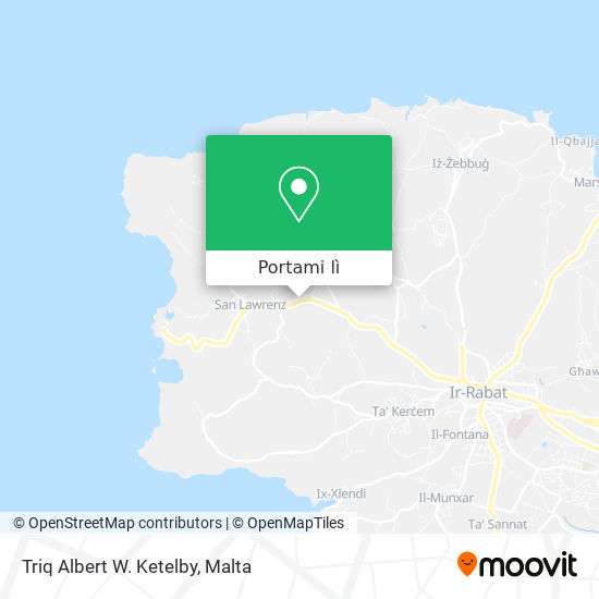 Mappa Triq Albert W. Ketelby