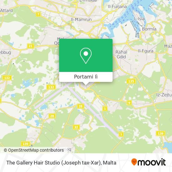 Mappa The Gallery Hair Studio (Joseph tax-Xar)