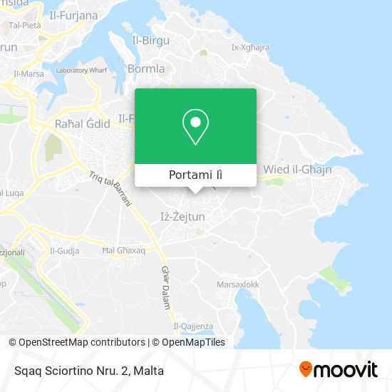 Mappa Sqaq Sciortino Nru. 2