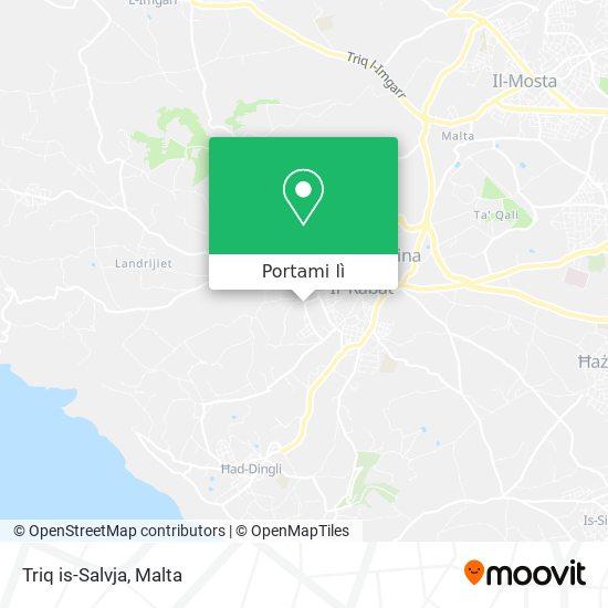 Mappa Triq is-Salvja