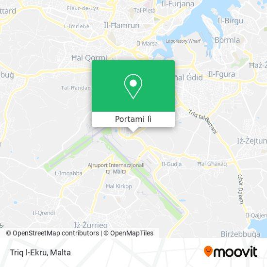 Mappa Triq l-Ekru