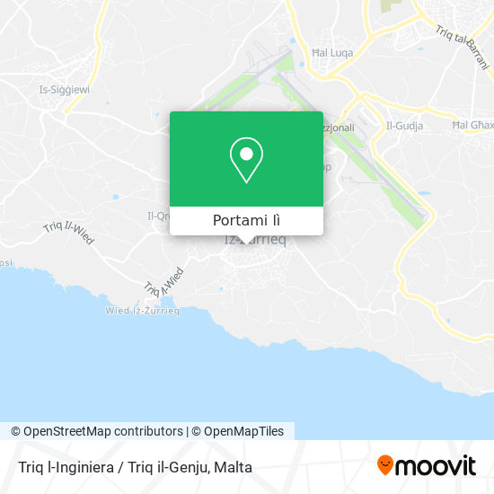 Mappa Triq l-Inginiera / Triq il-Genju