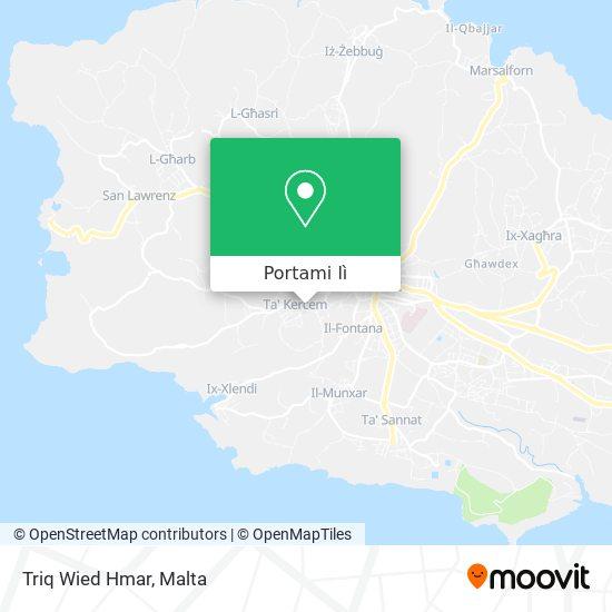 Mappa Triq Wied Hmar