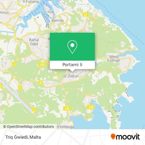 Mappa Triq Ġwiedi
